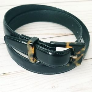 Ann Taylor Tortoise & Leather Belt